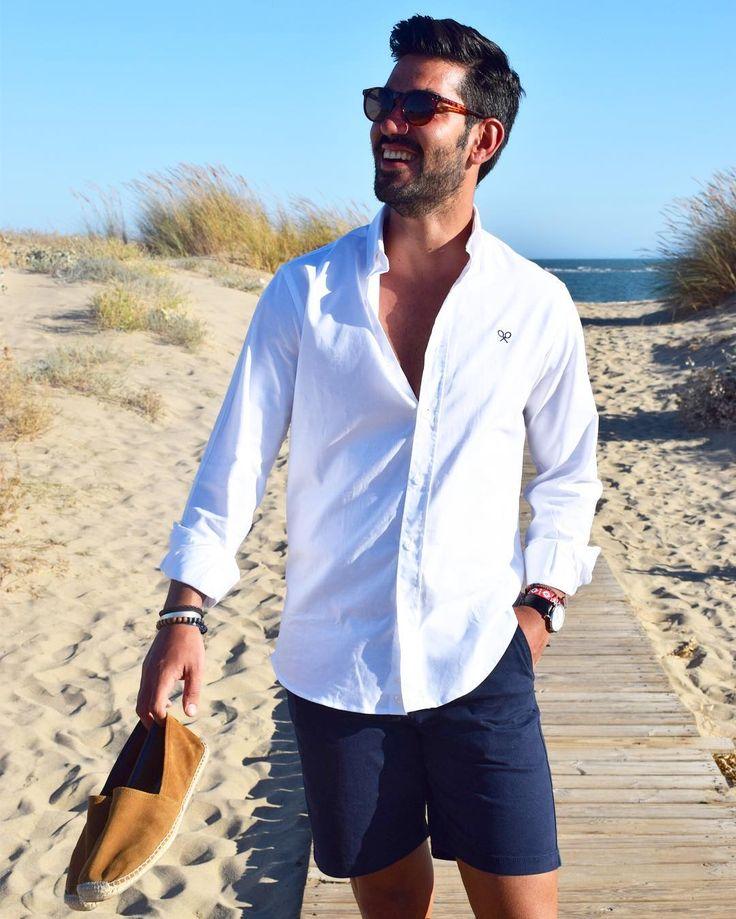 U00bfCu00f3mo viste un hombre elegante para ir a la playa este verano? - Moda y sociedad